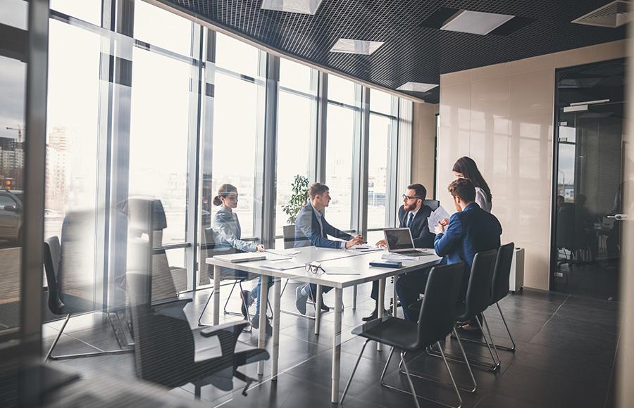 Geschäftskunden –Trendhaus