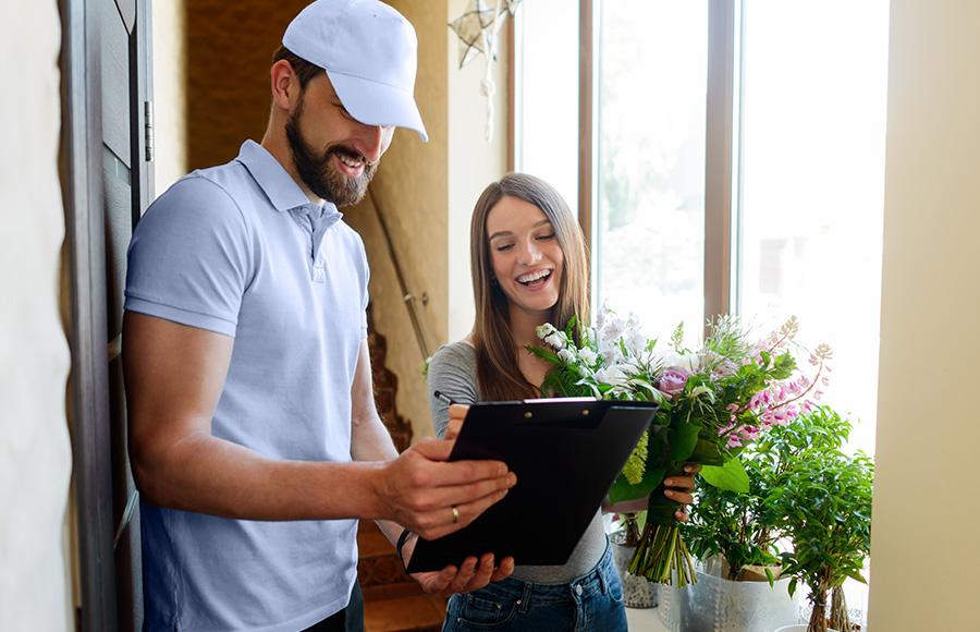 Bügelservice & Blumenlieferdienst für Privatkunden